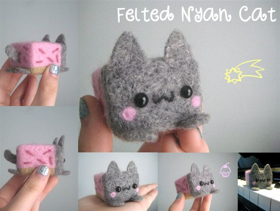 My daughter is a huge Nyan Cat fan. I have to make this for her!