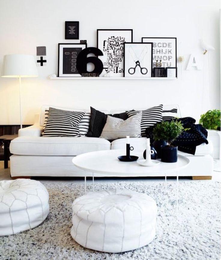 """734 Me gusta, 6 comentarios - A198 Deco® (@a198deco) en Instagram: """"▫️Situar encima del sofá una finita estantería es perfecto ▪️ Para que nuestros cuadros y láminas…"""""""