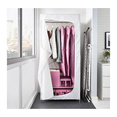 BREIM Vaatekaappi - valkoinen - IKEA Talvivaatteiden säilytykseen vaatehuoneeseen