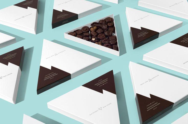 Wedge & Lever rediseña la marca de Rocky Mountain Chocolate