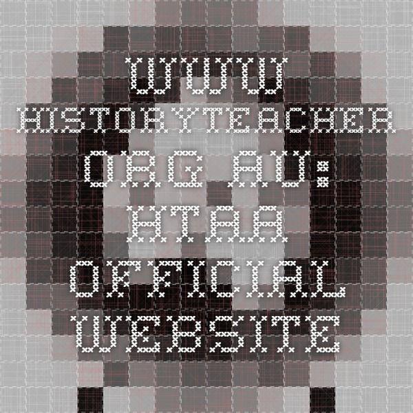 www.historyteacher.org.au: HTAA Official Website