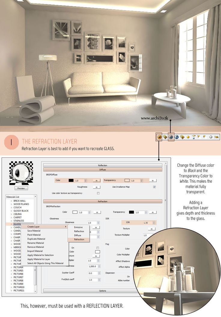 SketchUp Tutorial Part 2: VRAY MATERIALS AND TEXTURES Full Article At…