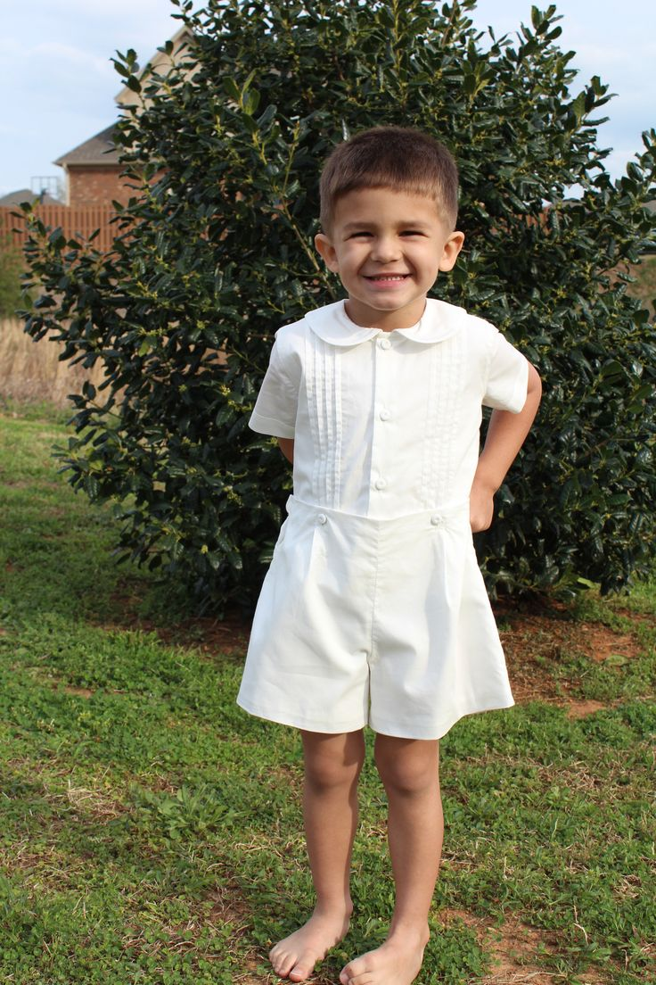 Boys Clothing - Heirloom Christening Outfit | Boys Little boys and Outfit