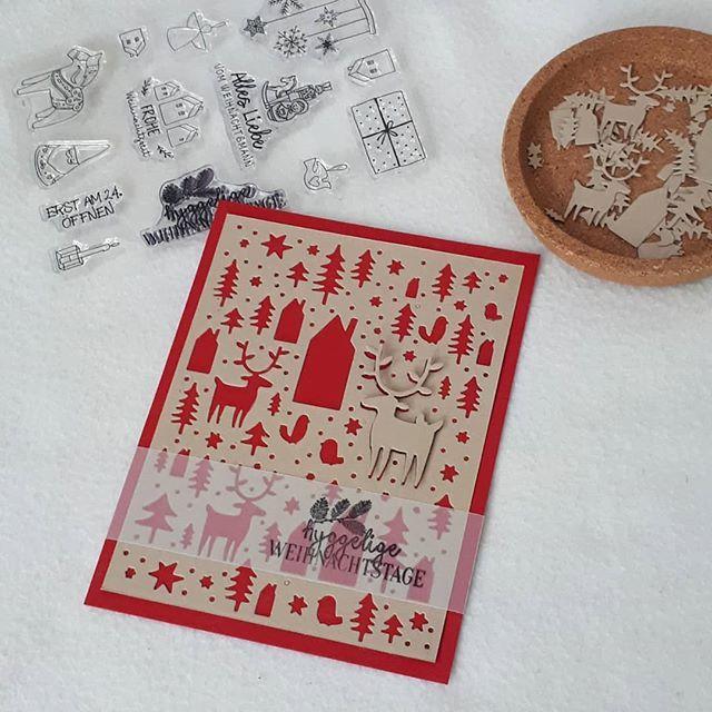 weihnachtskarten von creative depot p d gmbh auf unsere stempel weihnachten karten basteln