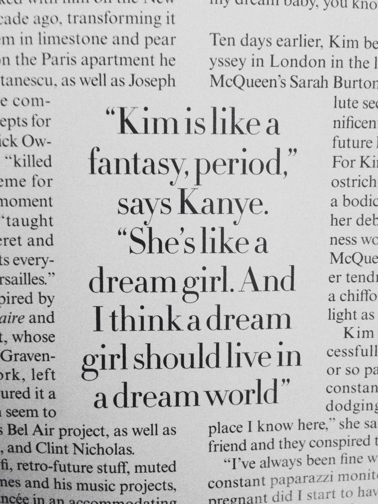 inkimyewetrust:  Kanye talking about Kim.