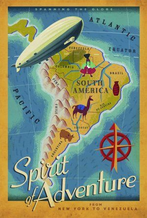 South America! It's like America, but south!!