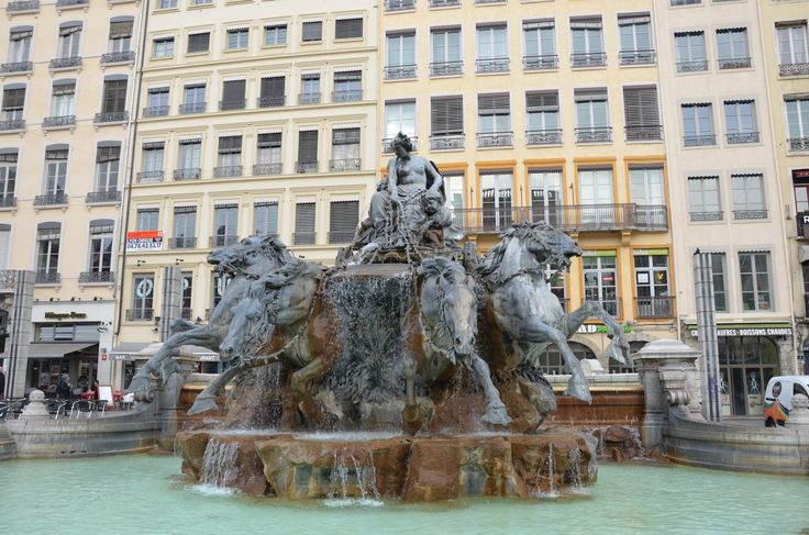 Lyon, France, Place des Terraux