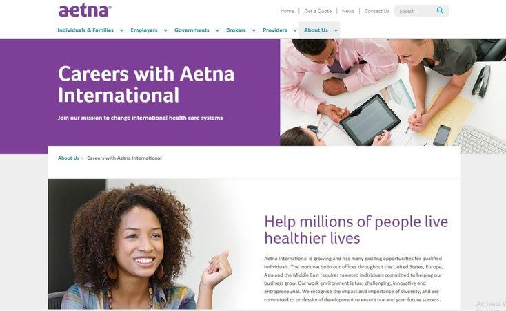 Careers with Aetna International | International jobs ...