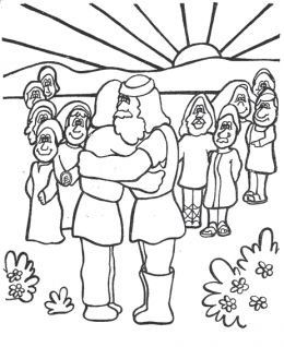 Old Testament Hebrew Jewish Bible Kids Coloring Pages Free ...