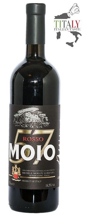 MOIO 57 PRIMITIVO  Wine with a ruby red color, a fruity aroma with a background of spices and licorice. The taste is characterized by a high concentration and a good balance.