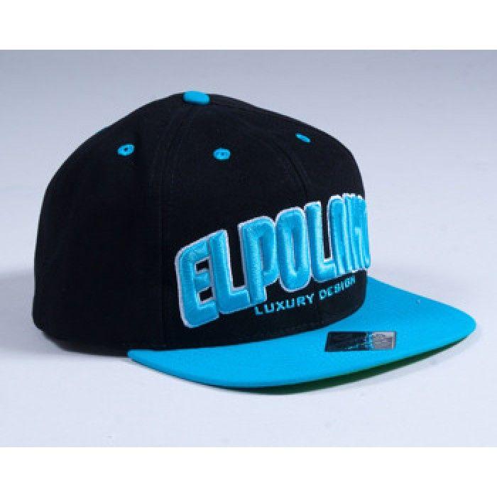 EL POLAKO SNAPBACK CLASSIC 2013 BLACK-BLUE - Czapki :: www.el-polako.com