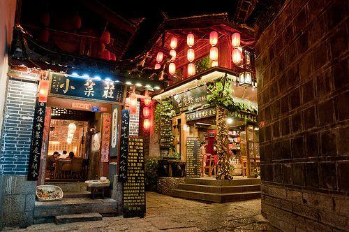 Lijiang by night