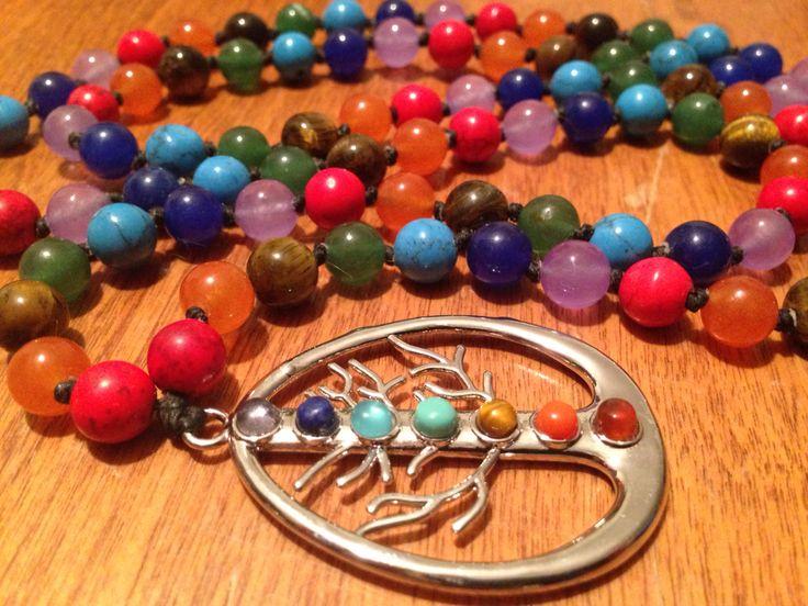 A sneak peek at a new 108 bead Mala necklace! https://www.facebook.com/JediJewellery