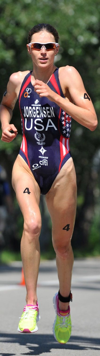 RIO OLYMPIC 2016 Gold Winner of the Triathlon Gwen Jorgensen (USA) from Wisconsin