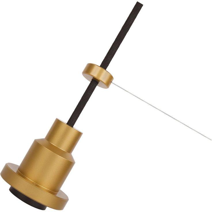 Osram Lampenaufhängung Pendulum 1906 E27 Gold Jetzt bestellen unter: https://moebel.ladendirekt.de/lampen/deckenleuchten/pendelleuchten/?uid=32e68f03-a42e-5388-b4c1-ddae0dbae35d&utm_source=pinterest&utm_medium=pin&utm_campaign=boards #deckenleuchten #pendelleuchten #lampen #wohnen>lampen #leuchten>innenleuchten>pendelleuchten>trendpendelleuchten Bild Quelle: obi.de