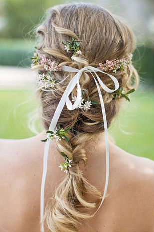 French braid | Summer Wedding Hair - Our Top 20 Styles via @onefabday