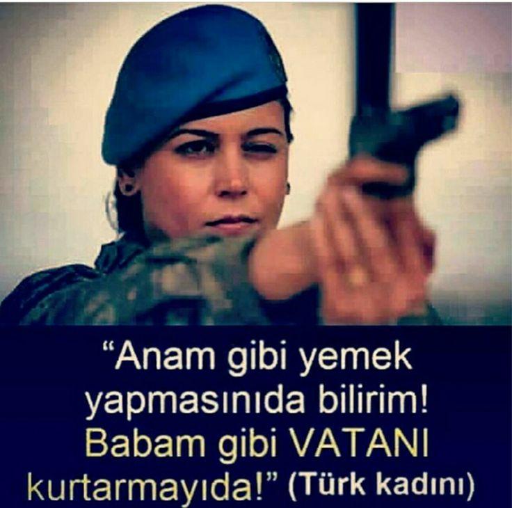 Helal olsun! #kadınasker #türkaskeri #vatansevdası