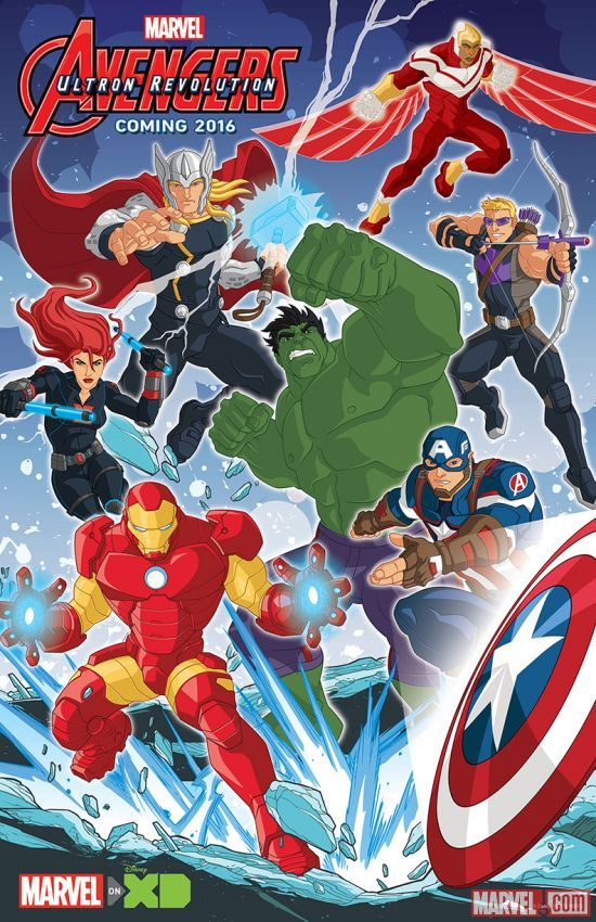 'Marvel's Avengers: Ultron Revolution' animated TV show