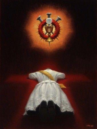 66 best communion images on pinterest religious pictures for Christian heidemann