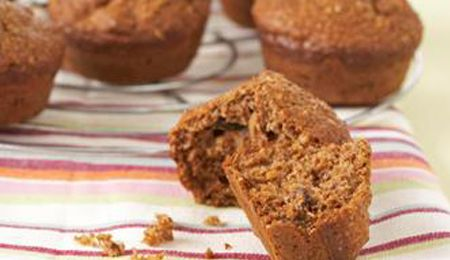 Low GI bran and pecan muffins