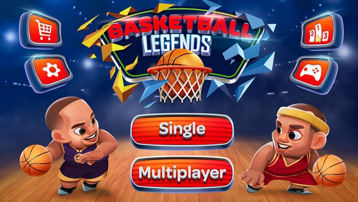 Basketball Legends is a cool 2 player basketball game  http://basketballlegends.co