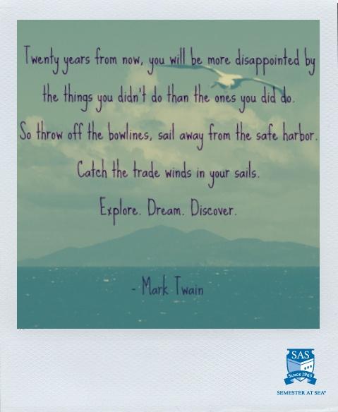 Mark Twain + Semester at Sea = Bliss
