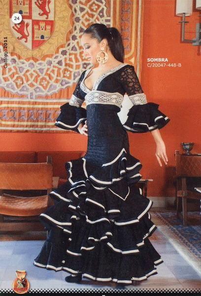Robes flamenco pour dames. Sombra