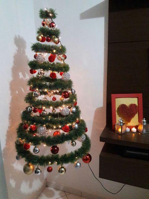 Árvore de natal suspensa, àrvore anti gatos :) diy, faça você mesmo