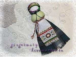 МК Кукла на ложке - Ярмарка Мастеров - ручная работа, handmade
