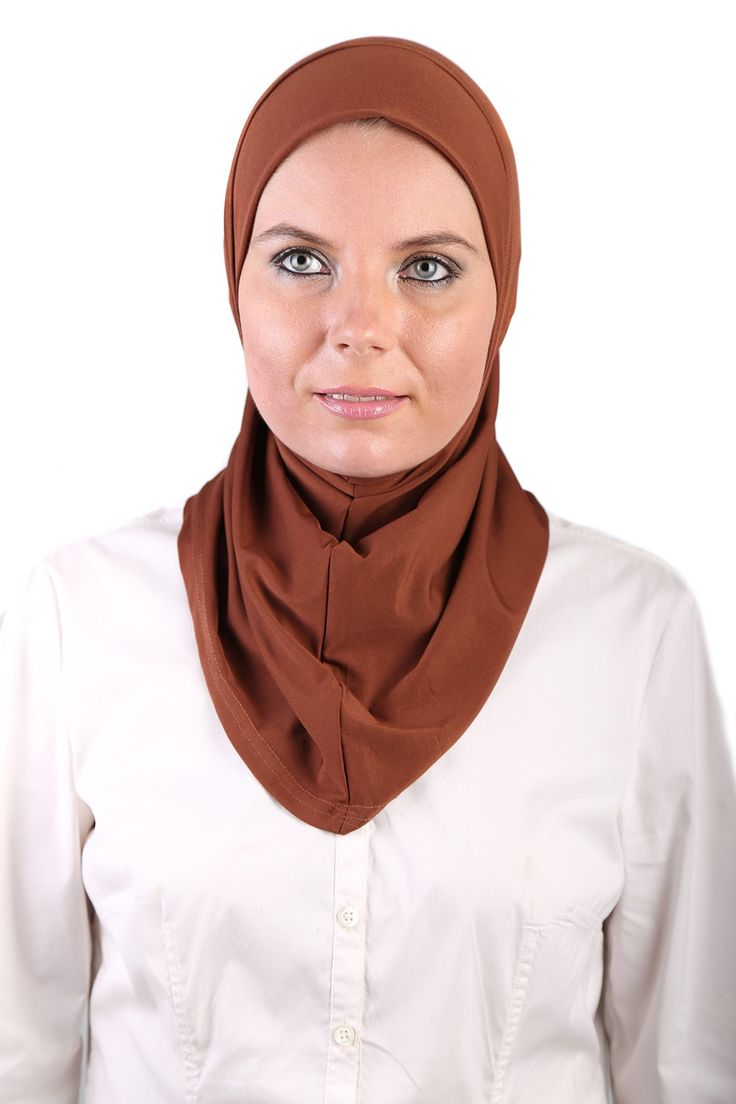 This brown Polyblend ready to wear turban is great! #headscarves #cancerpatients #headcovers