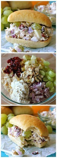 Greek Yogurt Chicken Salad Sandwich   weight loss recipes
