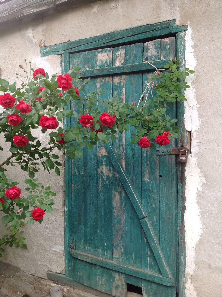 Door in Vác, Hungary