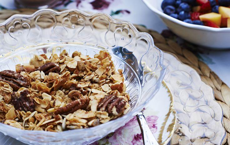 Comienza el día comiéndote una deliciosa granola casera