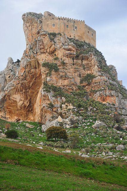 Castello Manfredonico di Mussomeli - Sicily, Italy, province of caltanissetta
