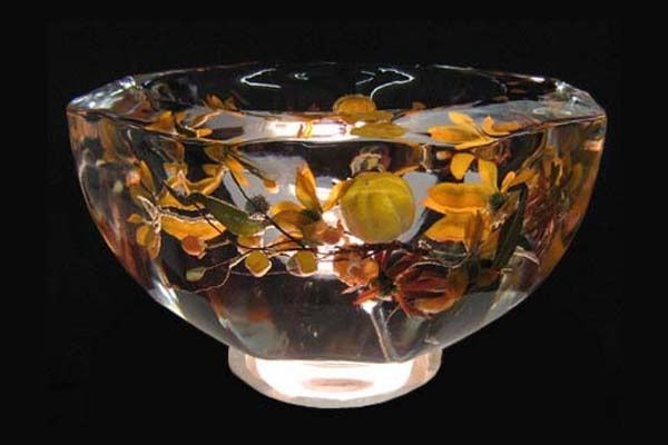 Autumn Floral Ice Bowl