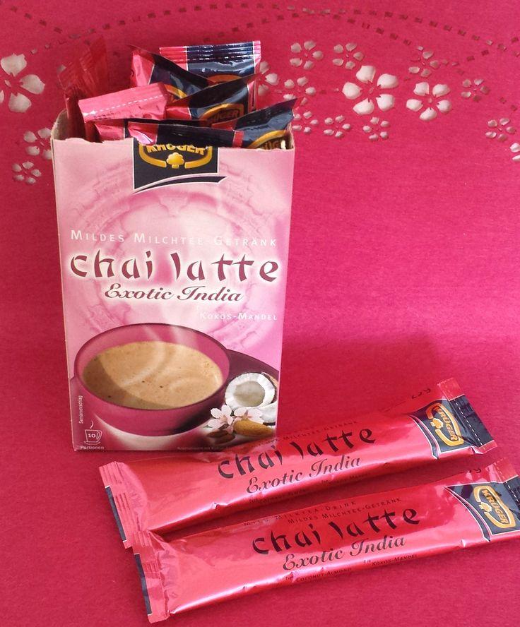 KRÜGER bietet Teegenuss mit einem Schuss Milch. Vorgestellt hatte ich bereits einige Sorten KRÜGER Tea Latte auf meinem Blog. Die Sorte Krüger chai latte Exotic India war in der September Degustabo...