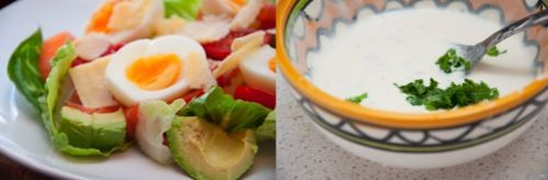 Healthier than usual - Caesar Salad | .hungry&poor. student food