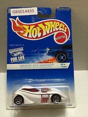(TAS030993) - Mattel Hot Wheels Car - White Ice Series
