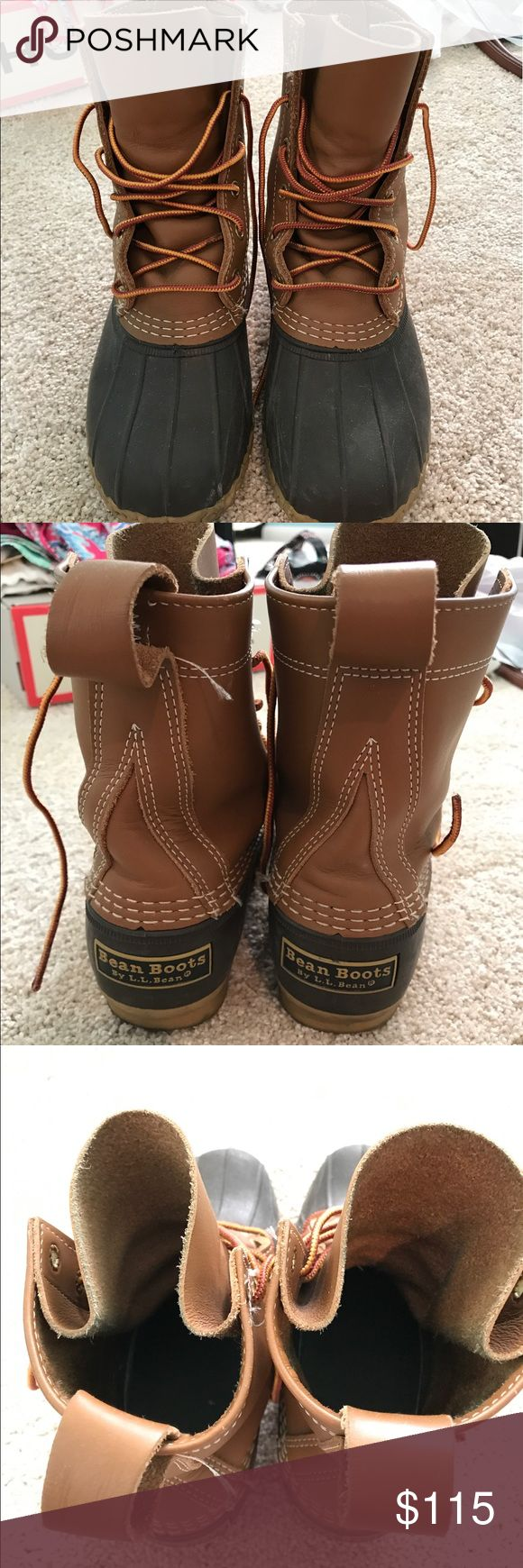 LL Bean Boots Fits a size 7. Not sure what exact size is. L.L. Bean Shoes Winter & Rain Boots