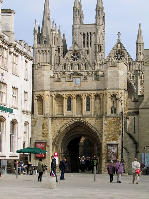 St Nicholas Gateway, Peterborough, England