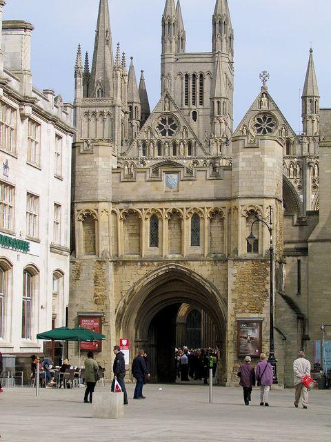 St Nicholas Gateway, Peterborough, England