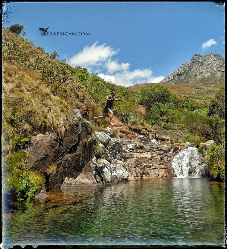 One of (many) favourite underrated activities on #Mulanje Mountain is exploring the numerous streams waterfalls & pools  #MountainPools #fbp #tw #fb #MalawiPlaces