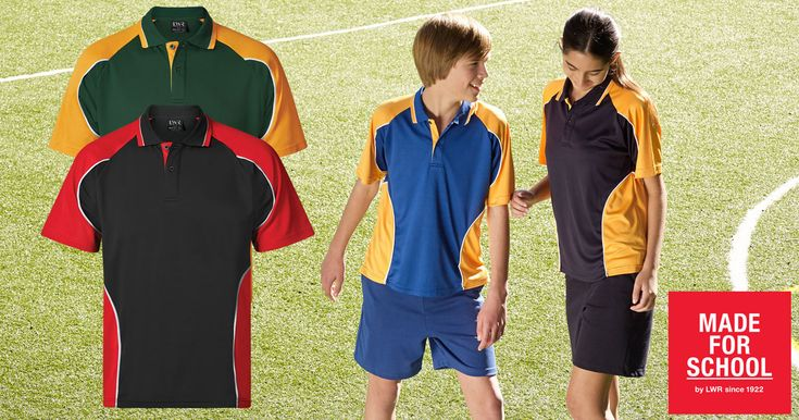 Look and feel like a winner in our Matson Cotton Back Sports Polo.