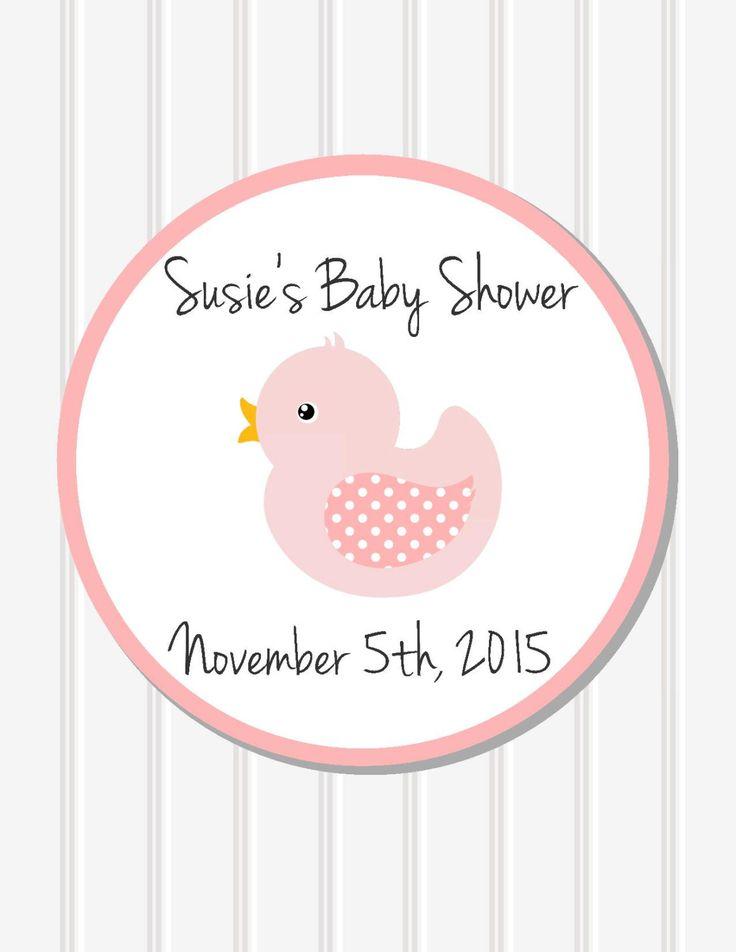 Child Bathe Decor Personalised Sticker Favor Stickers Child Bathe - http://babyfur.net/baby-shower-decor-personalized-sticker-favor-stickers-baby-shower/