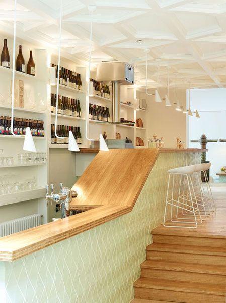 Le Comptoir, Hôtel des Galerie, Bruxelles / Delesalle-Flammarion - Guide Fooding®