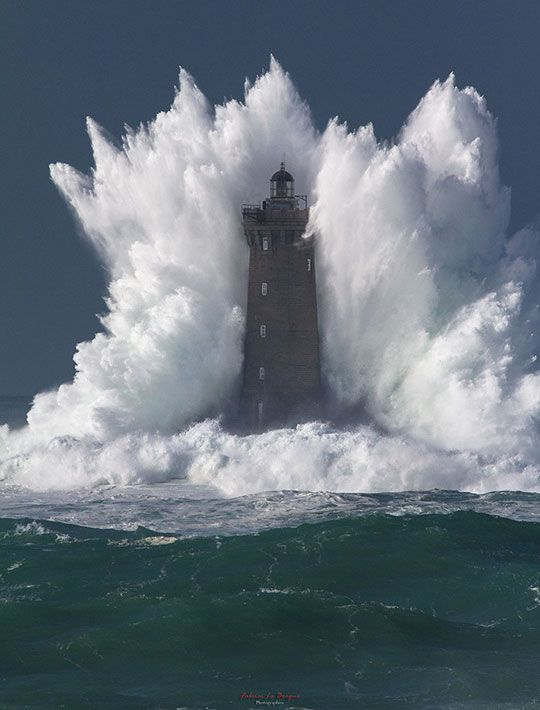 Wave Bigger Than The Lighthouse It's Hitting                                                                                                                                                                                 More
