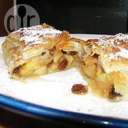 Foto recept: Appelstaaf met noten