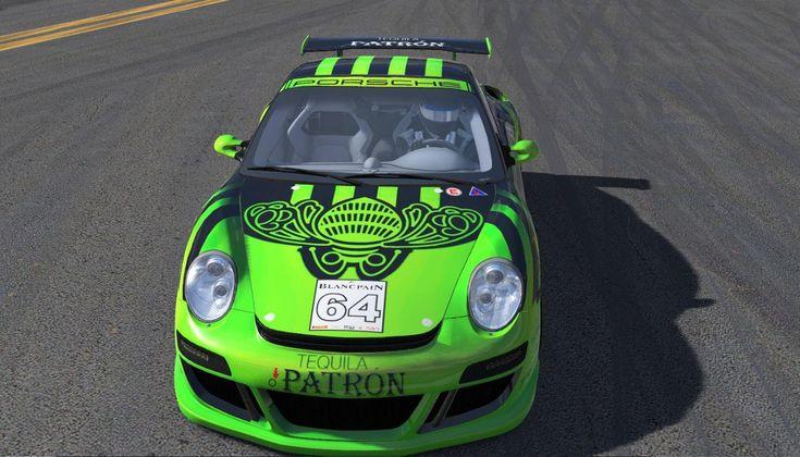 2008 Orbit Racing Porsche 911 GT3 Cup Challenge Patron tequilla
