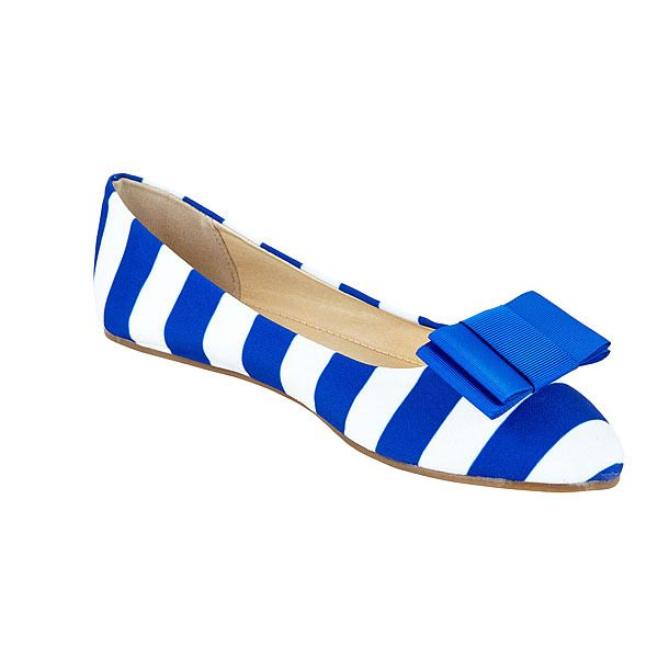Royal Blue and White Shoes and Royal Blue Shoe Clips