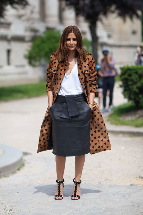 Haute Couture Street Style: Fall 2013